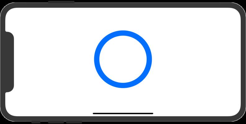 円の輪郭描画